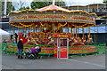 TQ3877 : Carousel by the Cutty Sark by David Martin