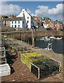NO6107 : Creels, Crail Harbour by Richard Sutcliffe