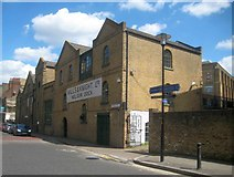 TQ3680 : Rotherhithe: Former Nelson Dock engine house by Nigel Cox