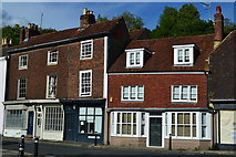 TQ4210 : Buildings in South Street, Lewes by David Martin