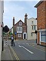 SZ4989 : Newport: turning into Pyle Street by John Sutton