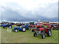 SJ7959 : Tractors at the Smallwood Rally by Stephen Craven