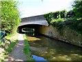 SP4815 : Oxford Canal runs under Banbury Road Bridge by Steve Daniels