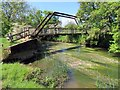 SP4816 : Footbridge over the River Cherwell by Steve Daniels