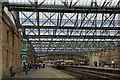 NY4055 : Platform 3 at Carlisle Citadel Railway Station, Great Britain by Andrew Tryon