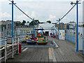 SZ5983 : On Sandown Pier, Isle of Wight by Robin Drayton