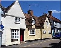 TL5646 : Linton houses [10] by Michael Dibb