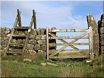 NY7969 : King's Wicket crossing, Hadrian's Wall by Rudi Winter