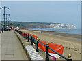 SZ6084 : Sandown promenade and beach, Isle of Wight by Robin Drayton