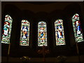 SO5429 : Windows inside St. Catherine's Church (Apse | Hoarwithy) by Fabian Musto