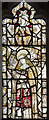 TG0136 : Medieval stained glass detail, All Saints' church, Bale by Julian P Guffogg