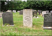 TG2408 : The grave of Leslie Davenport (1905-1973) by Evelyn Simak