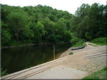 SJ6603 : The River Severn (Ironbridge) by Fabian Musto