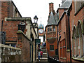 SJ4066 : Chester city wall at the Eastgate by Stephen Craven