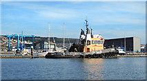 "SY6774 : Tug Boat  ""Handfast"" at Portland Marina by Des Blenkinsopp"