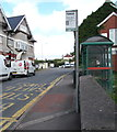 SO1500 : Commercial Street bus stop and shelter, Aberbargoed by Jaggery