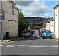 SO1500 : One-way street towards Aberbargoed Primary School by Jaggery