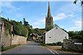 SJ5124 : Drawwell and All Saints' Church, Clive by David Dixon