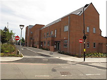 TQ2081 : Mozart Gardens terrace houses, North Acton by David Hawgood