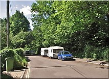 TG2407 : Caravan community on Whitlingham Lane by Evelyn Simak
