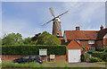 SP7420 : Quainton Windmill - the sails are back by Chris Allen