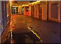 SW9972 : Polmorla Walk, Wadebridge, by night by Derek Harper