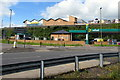 ST1599 : Morrisons on two levels, Bargoed by Jaggery