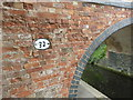 SK7029 : Detail of the  Grantham Canal bridge #32  by Graham Hogg