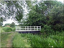 SK7431 : Bridge #44 on the Grantham Canal by Graham Hogg