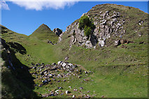 NG4162 : Castle Ewen, Glen Uig by Ian Taylor
