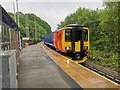 SK3451 : East Midlands Trains Class 156 (156415) enters Ambergate station by Chris Morgan