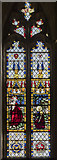 TG2308 : East window, Norwich Cathedral by Julian P Guffogg