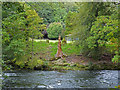 NY3603 : River Brathay by Chris Allen