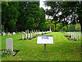 NY3954 : Commonwealth War graves, Carlisle Cemetery by Rose and Trev Clough