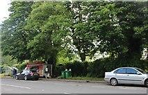 SP5924 : Kebab van on The A4421, Bicester by David Howard