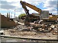 SJ9392 : Demolition of Lowes Arms by Gerald England