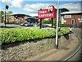 TQ1505 : Lyons Farm Retail Park by Gerald England