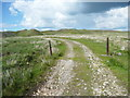 SE1200 : The track to Greystone Edge Quarries, Tintwistle by Humphrey Bolton