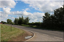 SP7715 : The A41 west of Aylesbury by David Howard