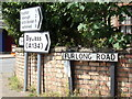 TF7000 : Roadsigns on Furlong Road by Geographer