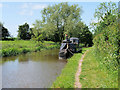 SJ3933 : Narrowboat on the Llangollen Canal near Ellesmere by David Dixon