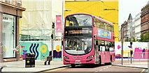 J3374 : Bus, Donegall Place, Belfast (June 2019) by Albert Bridge