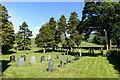 SD5797 : Gravestones at Grayrigg by Trevor Littlewood