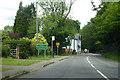 SU8799 : A4128 Missenden Road enters Prestwood by Robin Webster