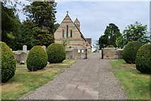 SJ4332 : The Church of St John the Evangelist, Colemere by David Dixon