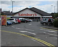SN5748 : Sainsbury's Lampeter by Jaggery