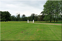 SJ5409 : Gate to the Driveway at Attingham Park by David Dixon