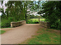 SJ5509 : Estate Bridge, Attingham Park by David Dixon