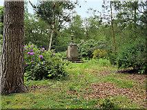 SJ5510 : The Berwick Memorial and Garden, Attingham Park by David Dixon