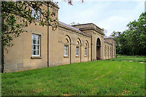 SJ5409 : Entrance to the Stable Block at Attingham Park by David Dixon